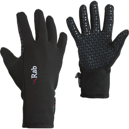 While skinning up to lap your secret powder stash, the lightweight Rab Phantom Grip Glove provides the breathable insulation you need to keep your digits warm but not sweaty. - $39.95