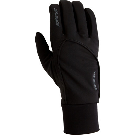 Seirus made the Women's Soft Shell Lite Glove for the winter enthusiast who prefers a low profile fit with unlimited versatility. From the drive to your favorite resort on a cold winter day to spring cross-country tours, this glove provides the right amount of warmth in a sleek and flexible design. Seirus gave it the Dry Hand breathable liner to keep out moisture, while the Polartec Power Shield shell fends off cold winds. The tacked in soft fleece stays in place when you take it off and wicks moisture. - $44.95