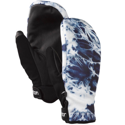 Snowboard The super-low-pro Burton Lambsbread Mitt lets you rock the So-Hot-Right-Now mitten style, even in mild weather. A water-resistant shell and brushed microfiber lining fight off frostbite in case a sudden spring storm rolls in. - $24.98