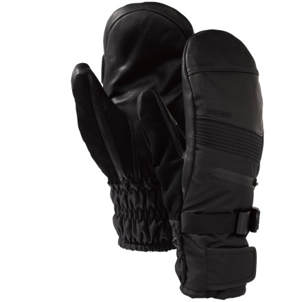 Snowboard The Burton Pinnacle Gore-Tex Under Mitten equips your clutches with a Gore-Tex XCR waterproof insert and Burton's resilient DryRide 2L shell so you can not only reach the peak but knuckle drag your way down the face without even worrying about getting soaked through. - $59.94