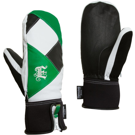 When gloves take notice, your hands notice. The Empire Attire Winter Mitt uses quality goatskin leather for durability, Thinsulate synthetic insulation the stretch of neoprene on the cuff, and faux fur just to set off the look. - $46.77