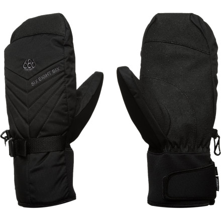 The 686 Horizon Insulated Mitten is ready to take on winter's worst using Infidry-10 technology and zonal fiberfill insulation to generate warmth and create a haven for the comfort for your would-be frigid digits. - $27.50