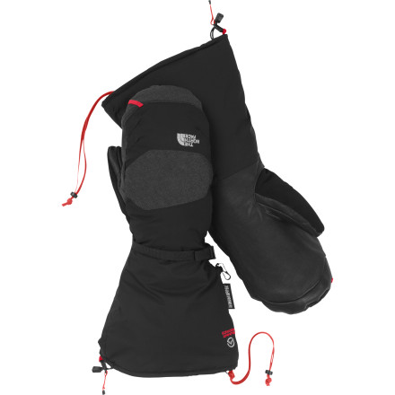 The North Face Himalayan Mitten was truly designed to perform in the unforgiving mountains that are its namesake. The 600 fill-down and Primaloft insulation enable the Himalayan to keep your hands warm when the mercury plummets to ungodly levels while the WindStopper shell creates an impenetrable barrier against wind and water. If visiting ultra-cold environments is on your up-coming itinerary, the Himalayan Mitten is your hand's new best friend. - $164.95