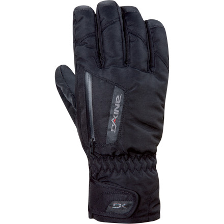 Snowboard You already use the cuff of your jacket to keep snow out of your glove, so why mess with a guantlet' Featuring a waterproof breathable Gore-Tex membrane, the DAKINE Men's Titan Glove agrees with you, and it's ready to bring serious weather protection to the party. - $45.47