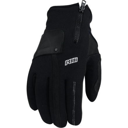 Snowboard Step right up to the Pow Barker Glove and enjoy killer style and unbeatable on-mountain performance. This waterproof glove features a corded nylon and neoprene shell that delivers strength and durability, while 40g Thinsulate insulation and microfleece lining add warmth and comfort. - $29.97
