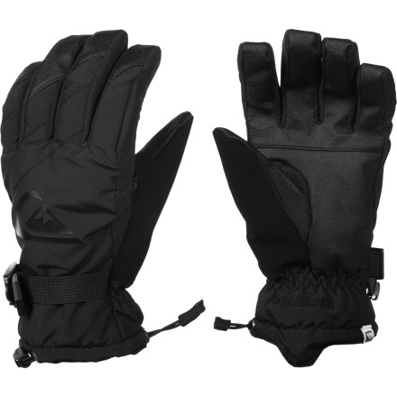 Snowboard The Quiksilver Metro Gloves throw down with great all-around protection from winter weather so you can shred from first lift to last chair without getting pushed back to the lodge because your hands are cold. - $30.00