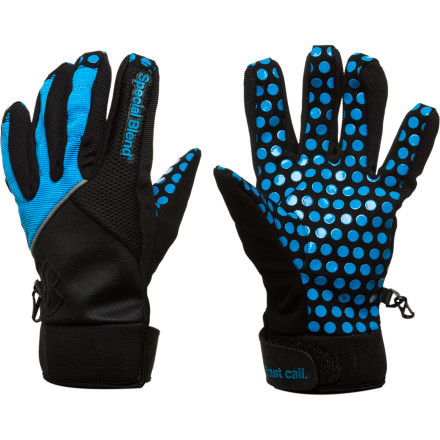 Ski Take one wall hit while wearing the Special Blend Crack Pipe Glove, and you'll be hooked for life. The super-grippy faux leather palm helps you tweak harder than the fiends living underneath your local highway overpass. - $26.97