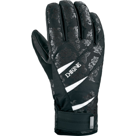 Snowboard The DAKINE Comet Glove packs a metric crap-ton (yes, that IS a real measurement) of tech into an amazingly affordable, functional design. A Gore-Tex insert delivers guaranteed waterproof performance, while synthetic insulation and a cozy fleece lining keep your hands warm and happy. - $38.97