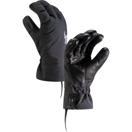 Ski Arc'teryx knows you would really rather not have to pull off your gloves to adjust a clip, tighten a buckle, or perform any of the fine-motor task you end up doing while you're skiing; that why it emphasized dexterity when it designed the Men's Beta AR Glove. Between the advanced Tri-Dex construction and the removable liner that features a thinner fabric on the palm, you'll be able to put those opposable thumbs to work without exposing them to cold. You'll also keep those digits nice and dry, thanks to the new Gore-Tex N80p-X waterproof breathable fabric. - $224.95