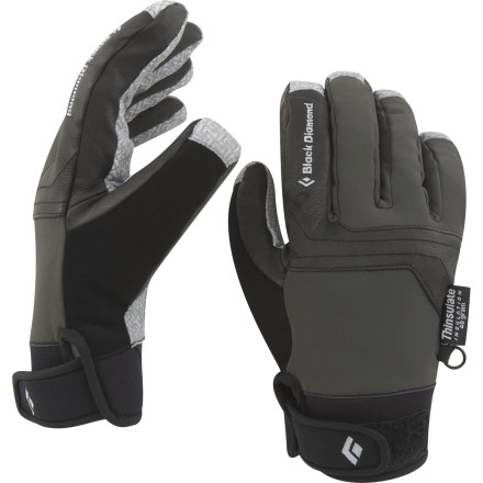 Ski Inspired by the simple and highly-durable design of motocross gloves, the Black Diamond Arc Gloves offer basic protection from the weather in a tough-as-nails package. Run these insulated gloves through the paces an alpine climb or a ski tour into the high-alpine and they'll return the favor by easily fending off cold and wet conditions. Rather than break the bank with a pair of brutally-overpriced mountaineering gloves, reach for the Arc Gloves and keep some cash for the post-adventure party. - $69.95