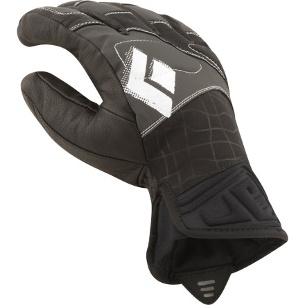 Ski Round out your fast-and-light ski touring kit with the worthy protection of the Black Diamond Glide Glove. More often than not, a mountaineering glove is overkill for the uphill and a liner glove just won't cut it when you're headed down. With a waterproof insert, streamline profile, and highly-durable, stretch-woven shell, the Glide glove strikes the ultimate balance. - $42.22