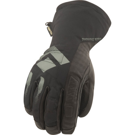 Ski From the inbound stash to the 3K vertical line you have to earn, the Black Diamond Squad Gloves have your hands covered. - $58.47