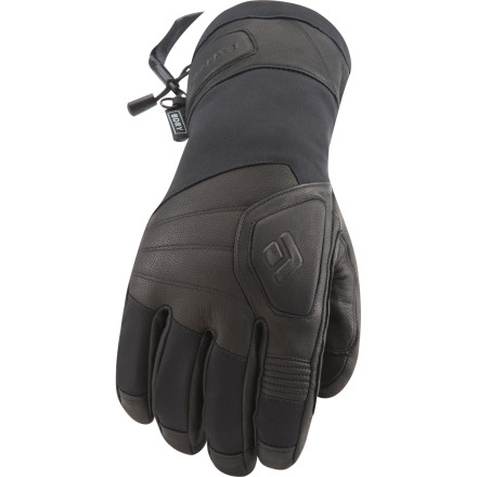 Ski Black Diamond took the classic design of the workhorse leather glove, added its own touch, and came out with the Patrol Glove. This is a die-hard, full-bore winter glove for ski patrollers, lift workers, and the most hardy of winter athletes. On the outside, it's tough as nails thanks to abrasion-resistant nylon and and goat leather, and on the inside, it's a veritable bunker against the elements thanks to a waterproof breathable insert and plenty of toasty insulation. No matter the coldness, wetness, or abuse, the Patrol glove never lets you down on the mountain. - $71.47