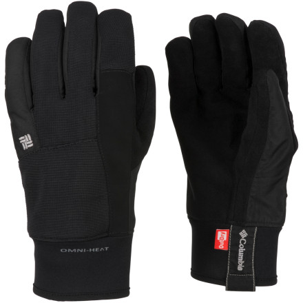 Ski Spring storms peel away and leave you with soft snow under the sun, so be sure you're equipped with the Columbia Cliff Grabber Glove to deal with the changing temperatures. Made for spring, this nylon glove features Omni-Heat thermal reflecting technology to keep your hand's heat inside during the cold morning, while the OutDry waterproof membrane seals out the melting snow of an unforgettable bluebird afternoon. - $37.98