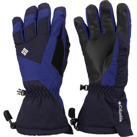 Ski Snow storms whip up out of the west and you calm their frostbiting power with the Columbia Majik Wand II Glove. Skiing isn't much fun with cold hands, but the Omni-Heat insulation holds the heat inside and the Omni-Tech waterproof breathable membrane keeps interior and exterior moisture out even if it warms up in the afternoon. - $51.97