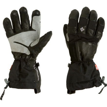 Ski Columbia teamed up two advanced technologies to give the Men's Mountain Monster Glove outstanding warmth and protection both outside and in. On the outside, the patented OutDry technology features a highly waterproof membrane laminated directly to the shell to stop moisture from penetrating even the top layer. On the inside, Columbia's breakthrough thermal reflective lining keeps your hands toasty and dry. Sandwiched between the two is a layer of Omni-Heat insulation that enables you to outlast the coldest, stormiest day on the mountain. - $89.97