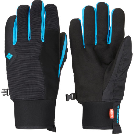 Ski Equip yourself for changeable spring conditions wiht the Columbia Cliff Grabber II Glove. This lightweight, stretchy under-the-sleeve glove includes OutDry technology so the slush and wet falling snow doesn't get to you, and an Omni-Heat thermal reflective lining to provide warmth on moderate days without adding any bulk. - $56.97
