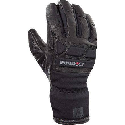 Ski No more worrying about frostbitten fingers with the Dakine Wrangler Glove. Leather outer keeps your hand safe from the elements, and Primaloft insulation and a wool lining provide warmth while wicking moisture away from your hand so your fingers stay dry and dexterous. - $41.97