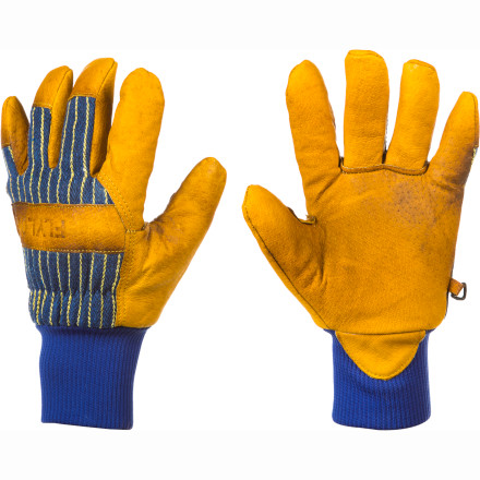 Ski Want the durability of leather construction without paying premium leather price' Grab the FlyLow Gear Tough Guy Glove made from the finest pigskin leather. - $19.47