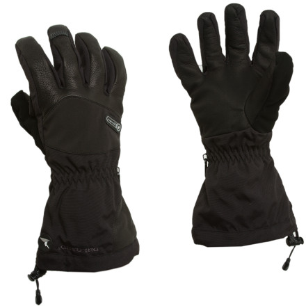 Ski Your next technical alpine expedition demands the warmth, dexterity, and ample coverage of the Grandoe Logan Mountaineering Gloves. These flexible, form-fitting gloves provide the crucial blend of hand insulation and sensitive feel that you need when placing protection, pitching your bivy, or doing any of the millions of simple tasks that become impossibly complex at altitude. - $62.97