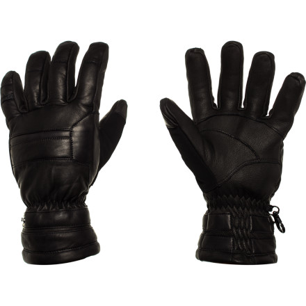 Ski Think twice before you venture out into cold, snowy weather without the Grandoe Convoy Gloves. Designed to keep your hands dry, warm, and comfortable, the Convoy comes equipped with a Dri-Gard insert, ThermaDry insulation, and a durable sheepskin shell. So whether you're shoveling the driveway, carving up groomers, or sledding with the family, you're hands are able to withstand winter's harsh elements with these classic-looking gloves. - $119.95