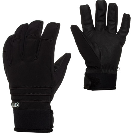 Ski Count on the Gandoe Men's Stryker Glove to give you that old school look you've been searching for. The Stryker has a waterproof breathable Dri-Gard insert and midweight insulation for weather protection, plus a Vulcan Grip palm so you won't lose your grip when someone engages you in a pole-duel while you glide along the flats. - $32.97