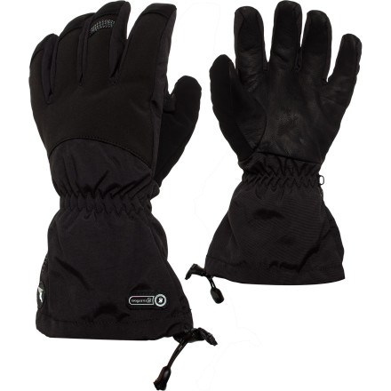 Snowboard Venture out into the snowy wilderness with the Grandoe Men's All Terrain Glove. Whether you're snowmobiling or skiing, this bomber glove features a waterproof breathable Dri-Gard insert so your hand stays well-protected from winter's bitter bite. Packed with six different levels of intuitive insulation, this glove keeps your hand warm and flexible while you reeve up the engine on your snow machine or rip turns down the slopes. - $50.97