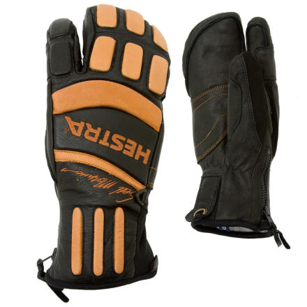 Ski A 3-Finger freeride glove designed by the man himself, the Hestra Seth Morrison Pro Glove is warm, waterproof, and breathable. - $184.95
