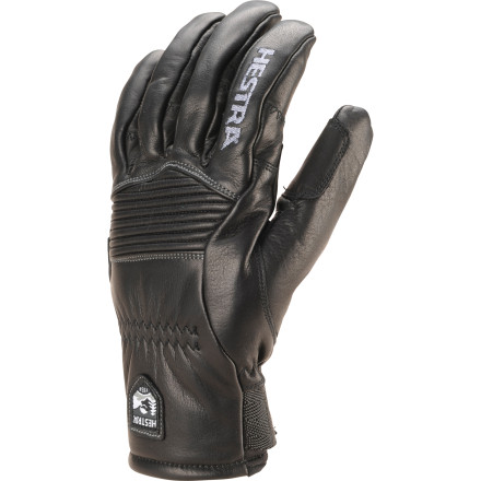 Ski April showers bring May flowers and an awesome, uncrowded corn season. Hence the Hestra Spring Ergo Grip Glove, which will shelter you with its waterproof, breathable insert when it storms and keep things basic with all-leather construction for mild weather. - $103.97