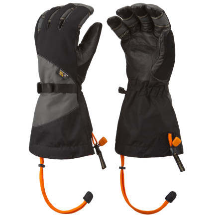 Ski You wont turn to stone when you look at the Mountain Hardwear Medusa Glove, but you might be blown away by its utterly bad-ass stretch shell with OutDry Technology. Instead of placing the waterproof membrane inside the glove like some companies do, Mountain Hardwear laminated it directly to the shell to stop wind and moisture from the get-go. - $104.97
