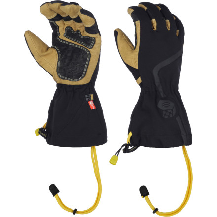 Ski Whether you're a backcountry enthusiast or bell-to-bell skier, you'll appreciate the likes of the Mountain Hardwear Typhon Glove. Its waterproof, windproof, and breathable OutDry membrane and water-resistant Q.Shield coating provide exceptional protection against winter's harsh elements, and its unique design means you have plenty of dexterity for grabbing ski poles or snow-shovel handles. - $154.95