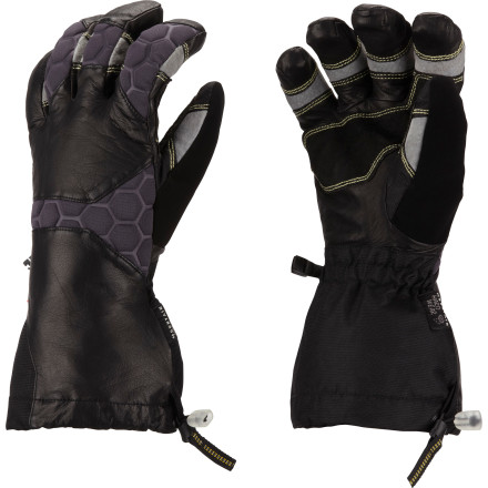 Ski Whether you're about to embark on a weeklong hut trip, work at a ski resort, or attempt to log 100+ days a year on the slope, slide your hands into a pair of the Mountain Hardwear Boldog Gloves. These technical backcountry ski gloves feature waterproof windproof OutDry technology, Thermic Micro insulation, and a full-coverage gauntlet so your hands stay more than comfortable while you tour, teach lessons, or shred pow. - $174.95