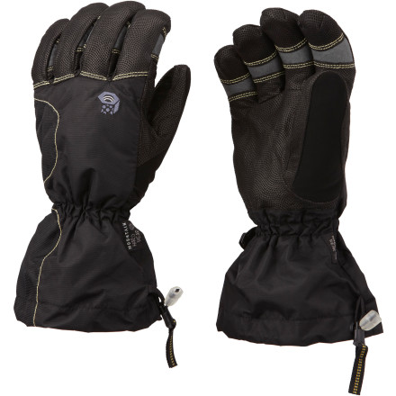 Ski Once you slide your hand into the Mountain Hardwear Jalapeno Glove, you'll wonder how your fingers survived freezing temperatures, sideways-blowing snowstorms, and powder days without it. This classic backcountry ski glove has a leather palm, full-coverage gauntlet, waterproof windproof technology, and a natural, articulated fit. - $124.95