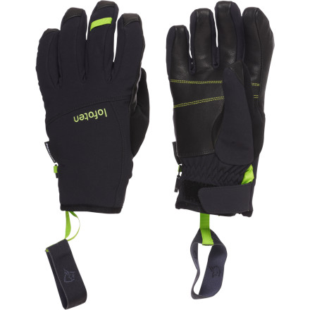 Ski The Norrna Lofoten Gore-Tex Short Gloves pack huge protection into a lightweight and flexible package. These big-mountain-ready gloves are the lightest, thinnest, most waterproof, and most breathable set of gloves in Norrna's arsenal. Your hands will stay warm, dry, and mobile on the mountain. - $78.54