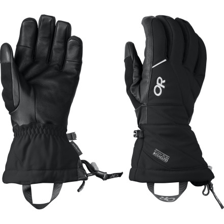Ski When you wake up to the sound of avalanche cannons echoing through the mountains, reach for the Outdoor Research Southback Glove. This waterproof, insulated glove is ready for heavy powder days and free-skiing madness thanks to its careful balance of grip, protection, and dexterity. - $84.95