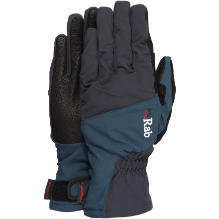 Ski Puffs of hot air escape from your jacket vents and into the frigid air as you adjust the closure cuffs on the RAB VR Tour Glove. It may be below freezing, but setting the skin or boot track takes hard work, and someone has to do it. - $49.95