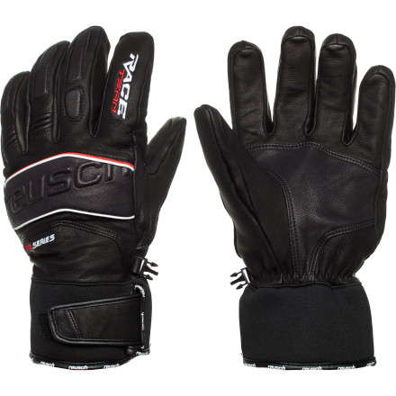 Ski Before an afternoon of on-piste domination, pull on the race-inspired Reusch Team Pro Glove. Finger Flex Waves and an all-leather construction give you a secure grip on ski poles and the Primaloft insulation traps in precious warmth. If you do catch an edge and take a tumble, the soft knuckle and finger padding will provide some much needed protection. - $139.95