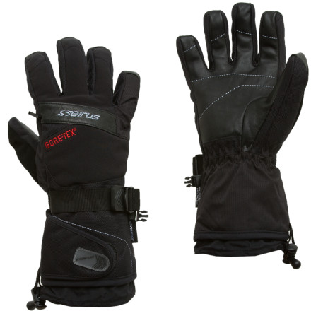 Ski Cold, wet snow dropped on your local mountain last night. Reach for the Seirus Stratos Gore-Tex Glove before you head out to the hill and keep your hand warm and dry regardless of how hard the storm rages. Synthetic insulation and a waterproof breathable insert ensure that your hands will stay safe amidst brutal weather. - $79.95