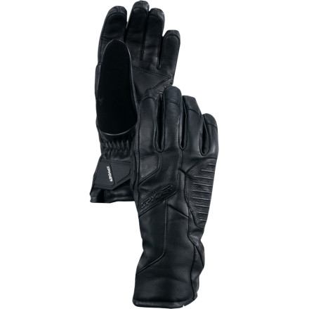 Ski Instead of being upset that last years gloves didnt keep your hands warm and dry, get the weather protection you need with the Spyder Rage Gore-Tex Gloves. These water-blocking gloves throw down with serious tech, and the smooth look of leather. - $64.97