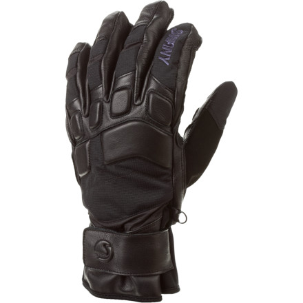 Ski Your buddy's hands are a soggy, pruned mess after a few hours in the park. Thanks to your Swany Daffy Ski Gloves, your hands are dry and comfortable. What this means, of course, is that if you can't find your Swanys tomorrow, you'll know where to look. - $59.97