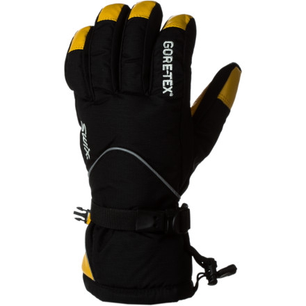 Ski Slip your fingers into the Swix Men's Trekker Glove and let the Gore-Tex membrane deal with all the winter storms and spring slush. - $69.95