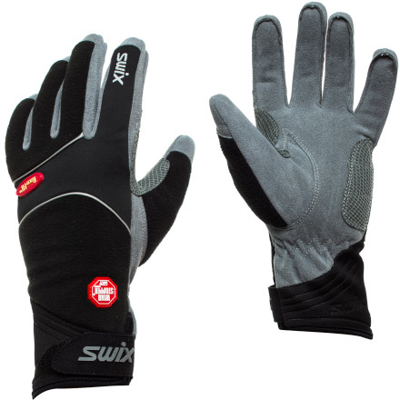 Ski Go warm, dry, and super-sleek in the Swix Men's Gore Spectrum Glove, with chill-arresting, totally windproof WindStopper fleece, tons of breathability, and a contoured fit. Let your hands swing and pole-plant in protective comfort as you kick and glide from sun-up to sunset. - $47.95