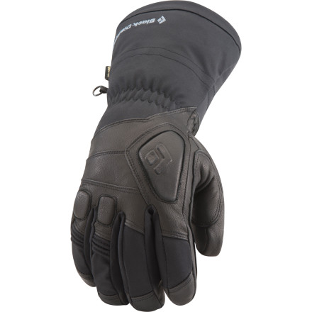 Ski Sub-zero days call for Gore-Tex XCR waterproof breathable protection and smooth dexterity of the Black Diamond Women's Guide Glove. Whether you're slashing backcountry pow, leading a guide trip, or bumping chairs at the resort, this women-specific glove features PrimaLoft insulation to keep your hands exceptionally warm, while goat leather palms provide durable grip on your poles or ice axe. - $169.95