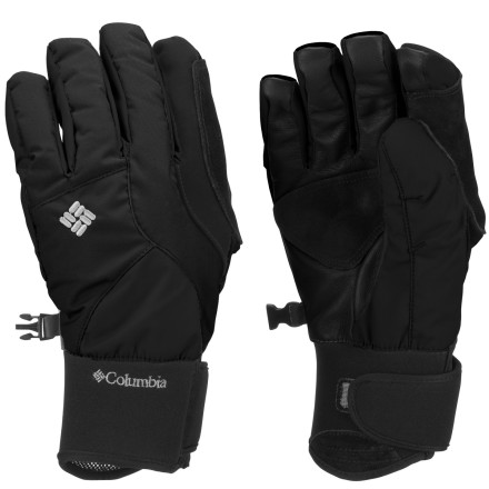 Ski When it's in the single digits out, the last thing you want to do is pull off your gloves to do the simplest tasks with your hands. Knowing this, Columbia engineered the Women's Diamond Dash II Glove with thermal reflective lining and Omni-Heat insulation that work together to provide outstanding warmth without a lot of bulk. Stretchy fabric and knuckle expansion pleats give you even more dexterity, so you can use your phone, fiddle with your goggles, or any number of tasks without chilling your fingers. - $42.22