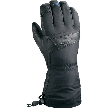 Ski Every year you deal with perpetually cold hands, and every year you swear you'll do womething about it. Well, here's your chance. Sliding your hand into the DAKINE Sahara Glove is like sliding your cold, wet hand into the desert of the same name. A guaranteed waterproof breathable Gore-Tex insert keeps the weather off you while letting moisture out to avoid clamminess, and toasty Primaloft insulation keeps your hand warm even when it's wet. - $76.97