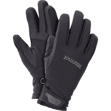Ski Although you're a superhuman when it comes to multitasking, you only have two hands. Treat them right with the Marmot Women's Glide Softshell Glove. Great for layering or spring skiing, the Glide is lined with DriClime for superb comfort and moisture management. - $32.47