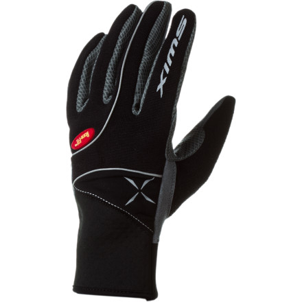 Ski After a hectic morning, pull on the Swix Women's Stride Glove, grab your gear, and head to the track to expel some energy. Designed with race fit technology and Cool-prene cuffs, the Stride supplies optimal comfort, feel, and compression while you train and work up a sweat. - $36.95