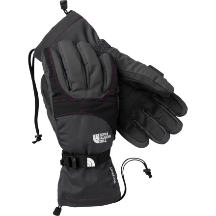 Ski The North Face has streamlined the fit of the Womens Montana Glove, so you get the same warm, waterproof breathable protection in a nimble, low-bulk ski and snowboard glove. When youre tightening a boot buckle or threading a snowboard binding, the womens specific 5-dimensional fit, radiometric articulation, and slightly reduced insulation in the palm give you the touch you need so you don't have to pull the glove off. On the back of your hand, extra insulation and high-loft pile lining keep you toasty in frigid conditions. - $41.97