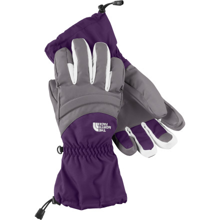 Ski The North Face equipped the Women's Etip Facet Glove with a touchscreen-friendly liner glove, so you don't need to strip down to bare skin when you want to text your whereabouts on the mountain to the rest of your group. An insulated, waterproof breathable outer shell glove warms up your hand once you've finished your electronic business and are ready to get down to carving some turns. - $57.99