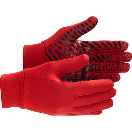 Ski Slip on the Burton Mens Power Stretch Liner glove and treat your texters to indispensible warmth and stretchiness that you can wear under your shred glove on freezing days, or on its own on walks through town. Four-way Powerstretch fleece is engineered for flexibility, warmth, and breathability, so you won't be hindered by this lightweight Burton glove whether you're shredding gnarly big lines, or walking around a foreign ski town in search of a six-pack. A Sticky Icky grip palm keeps your hand from slipping around inside a shell glove, and helps you keep a grip on your cold one so you dont spill adult beverage all over the hot girl at the ice bar. - $13.93